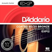 D'Addario Coated 80/20 Bronze Acoustic Guitar Strings