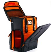 Gruv Gear Stadium Bag - Black/Orange