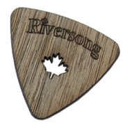 Riversong 5-Layer Walnut Triangle Pick 1.5 (Heavy Flex)