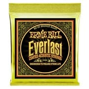 Ernie Ball Everlast Coated 80/20 Bronze Acoustic