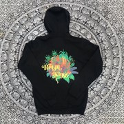 """The Reign of Kindo"" Botanicles Double Sided Zip Up Hoodie"