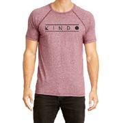 """Kindo"" Logo Maroon T-Shirt"